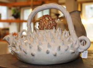 Artichoke teaqpot